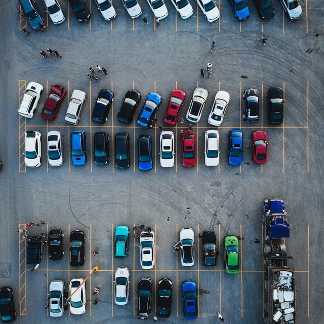 achteruit inparkeren