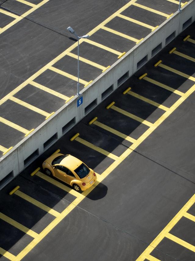 Vooruit inparkeren